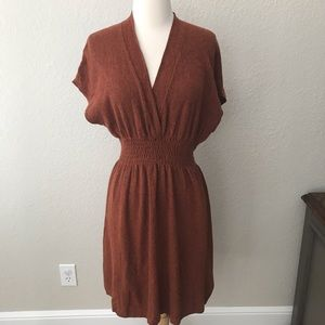 Dresses & Skirts - Anthropologie Sparrow Wool Blend Deep Rust Dress S